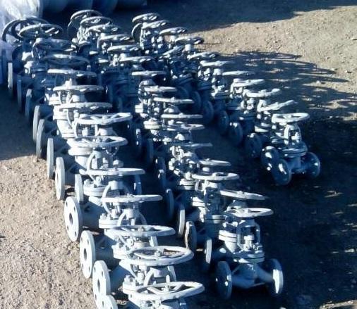 Клапаны (вентили запорные) стальные Image