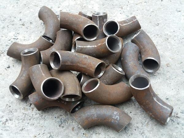 Отводы стальные нержавеющие крутоизогнутые ф21 - 630 мм ГОСТ 17375 ст.20, 09г2с, 08х18н10т Image