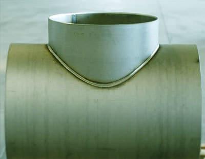 Тройники сварные ф325 - 2000 мм ст3, 20, 09г2с, 08х18н10т Image