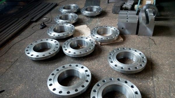 Фланцы стальные нержавеющие приварные аппаратные Ду400 - Ду1600 мм Ру3 - Ру160 атм ст20,09г2с,08х18н10т Image